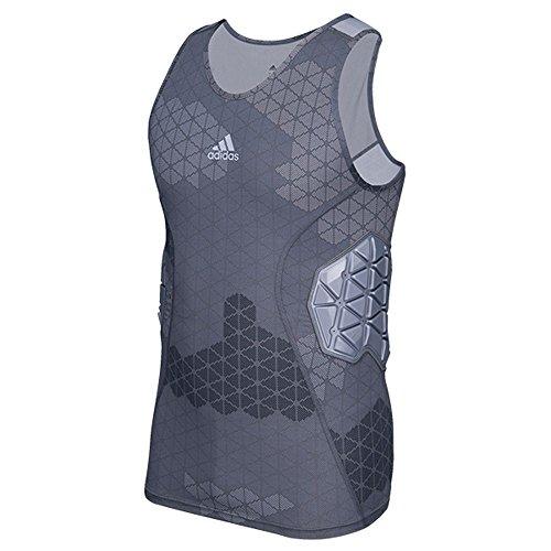 Adidas Techfit Ironskin Mens 3 Pad Football Tank L Onix-Light Onix