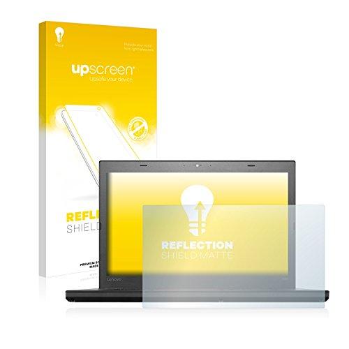 upscreen Entspiegelungs-Schutzfolie kompatibel mit Lenovo ThinkPad T460 UltraBook – Anti-Reflex Bildschirmschutz-Folie Matt