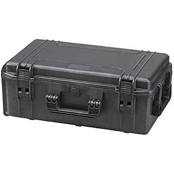 Max MAX540H190S IP67 resistente al agua nominal de tapas r/ígidas para fotograf/ía equipo estanca resistente de transporte Transit pl/ástico funda//espuma de poliuretano de//caja de transporte para iMac caja de herramientas