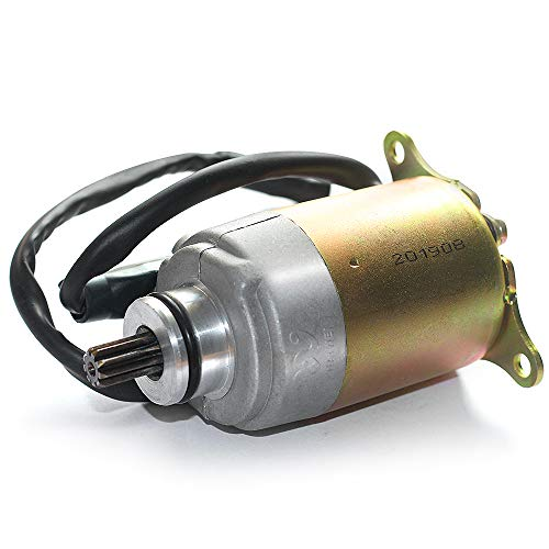 Trkimal GY6 125cc 150cc Starter Motor with Wire Cable Compatible Go Karts ATV Scooter Moped Dune Buggys Quad 4 Wheelers TAOTAO BAJA