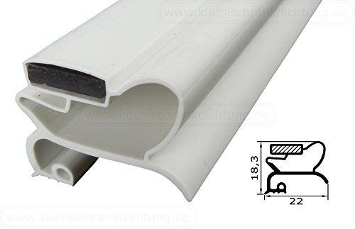 Magnetdichtung Profil klein a - 2000mm inkl. Magnetband - Farbe: weiss (Kühlschrankdichtung)