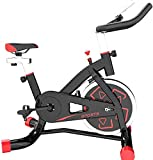Bicicleta estática Ciclismo Cardiovascular Hogar Ultra silencioso Ciclismo en Interiores Máquina de pérdida de Peso Gimnasio Gimnasio Bicicleta Equipo de Fitness-Negro