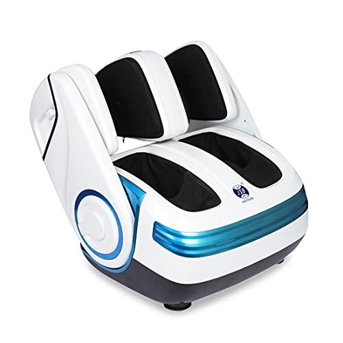 JSB HF06 Pro Shiatsu Flexible Leg Foot Massager with Airbag Massage, Foot Roller, Heat & Reflexology