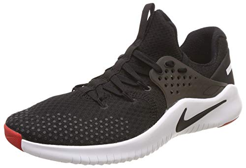 Nike Herren Free Tr 8 Sneakers, Mehrfarbig (Black/White/Red Blaze 001), 41 EU