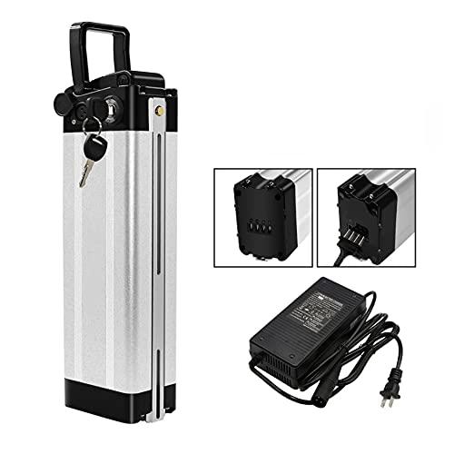 HYAQQ Ebike Li-oin batería 18650 celda con USB 48 V baterías de bicicleta eléctrica con cargador para 250 W, 500 W, 750 W, 800 W, 48 V12AH