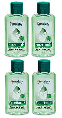 Himalaya Hand Sanitizer Pack Of 4 Green Apple