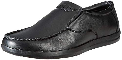 Amazon Brand - Symbol Men's Black Synthetic Formal Shoes - 8 UK (AZ-KY-310A)