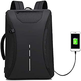 aa10e509e Deals Outlet 360 Degree Open Anti Theft Backpack Briefcase Inbuilt USB  Charging Port 15.6 Inch Laptop