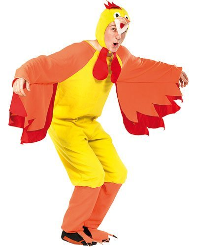 infactory Costume Poulet Fou