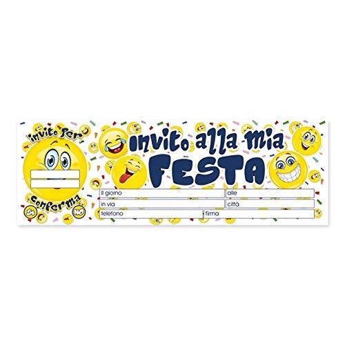 Big Party- Blocchetto 20 Biglietti, Multicolore, 62023