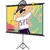 プロジェクタースクリーン 60インチ 4:3 携帯式 三脚式 自立型タイプ 室内室外 組み立て式 ホームシアター スクリーン 会議室 プロジェクター-スクリーン-自立式-モバイル-すくりーん