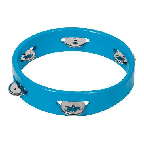 Goki Tamburin mit 5-Bells (blau)