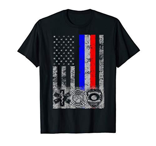 Fireman Police EMT / First Responder Flag