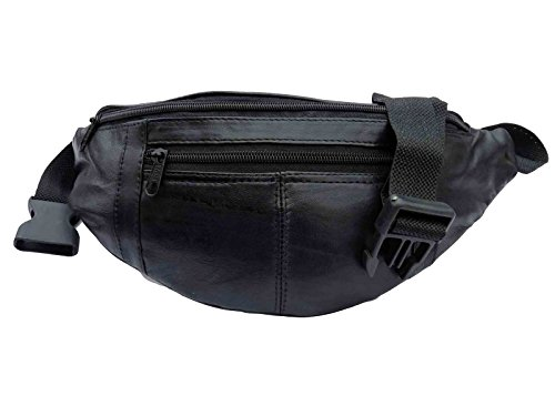 Leather Bumbag, Soft Leather Bum Bag, Up to 44 Inch waist 0412