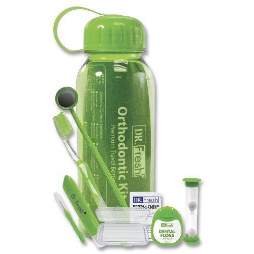 Dr. Fresh Orthodontic Travel Bottle Kit
