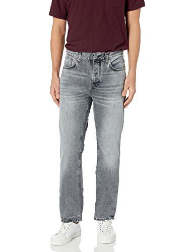 Nudie Jeans Unisex-Erwachsene Sleepy Sixten Grey Skies Jeans, Grauer Himmel, 25W x 30L