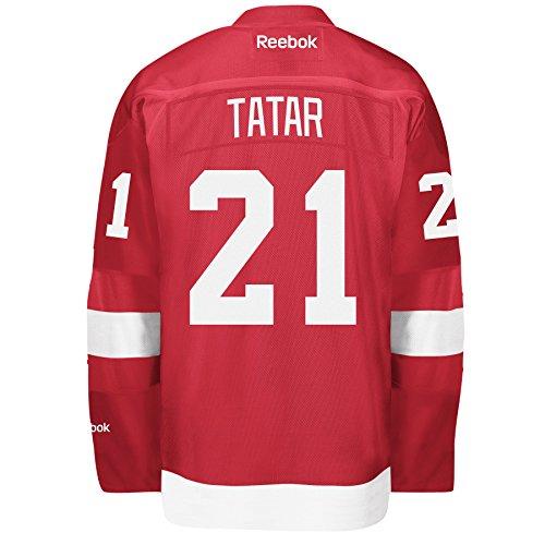 Reebok Detroit Red Wings # 21Tomas tatarisch rot Premier Jersey, Herren, rot
