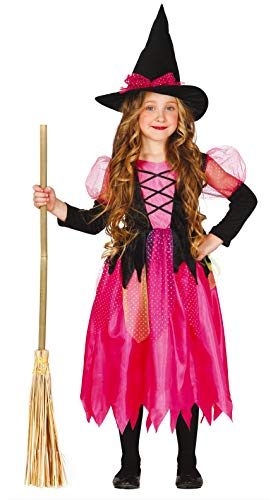 Guirca 82566 - Shiny Witch Enfant Taille 5-6 Ans