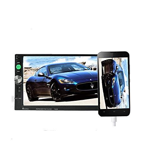 Autoradio 2 Modelli Generali di Auto DIN LCD da 7 '' Pollici Touch Screen Autoradio Lettore Bluetooth Car Audio 7023B