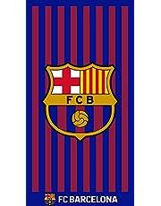 TEXTIL TARRAGO Toalla de Playa FCB Futbol Club Barcelona Barça 90x170 cm 100% Algodon Licencia Oficial FCB FCBTG3
