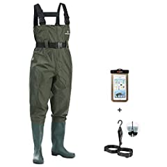PLEASE Mind the Size Chart and Choose the RIGHT Size Before Buying! KeepDry Bootfoot Cleated Chest Waders come back strongly with expected affordable innovations this season. KeepDry Chest Waders was made of upgraded next generation nylon with two-pl...
