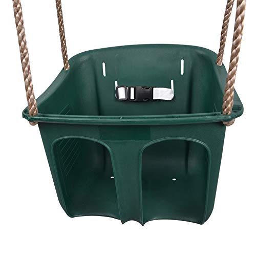 Fantastic Prices! ZFM Children's Swing, Waterproof Durable Eco-Friendly Toddler Swing Seat Secure Ad...