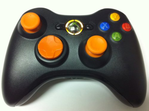 Orange D-pad. Led, Sticks, 17 Mode Drop Shot, Quick Scope, Auto Aim, Dual Rapid Fire, Reprogrammable Xbox 360 Modded Rapid Fire Controller Mw3 Black Ops Mw 2