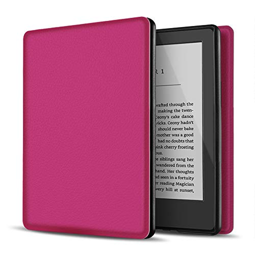 """TNP Case for Kindle 10th Generation - Slim & Light Smart Cover Case with Auto Sleep & Wake for Amazon Kindle E-Reader 6"""" Display, 10th Generation 2019 Release (Hot Pink)"""