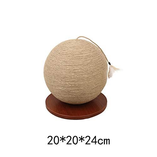 ZKK Corde de Sisal Naturel 6mm Remplacement Cordage Ancien Accessoire Idéal pour remplacer Poteaux de l'arbre à Chat, Balles Jouets en Sisal
