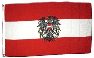 XXL Flagge Fahne Österreich Adler 150 x 250 cm by Flaggenfritze