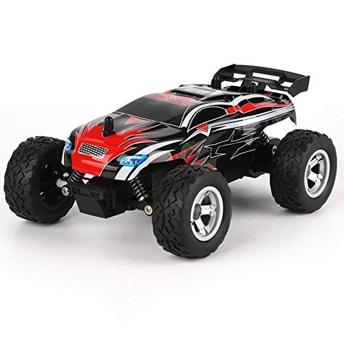 Poooc 15km / h High Speed RC-Rennwagen 2.4Ghz Elektro Offroad Raupenfahrzeug 1/24 Maßstab Remote-Big Foot Außen 4x4 Gesteuertes Auto Wasserdicht All-Terrain-LKW schnelles Rennen Buggy for 4+ Jährige
