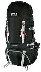 Sherpa High Peak Backpack, Green / Darkgreen, 30 x 35 x 82 cm, 65 Liters