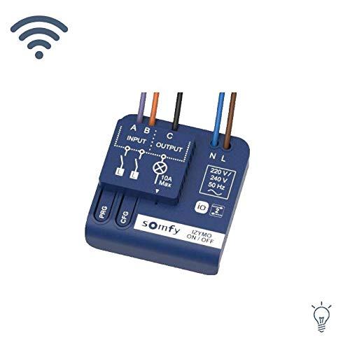 Somfy Izymo Unterputz-Licht-Empfänger io (1822649) Empfänger zur Bedienung Ihrer io-Produkte (Licht an-aus!)