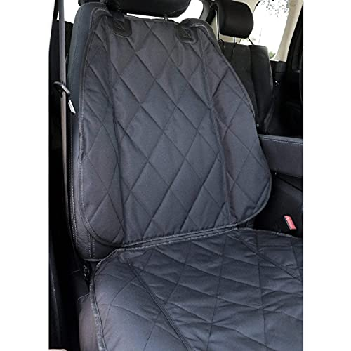 BarksBar Pet Front Seat Cover for Cars with Nonslip Backing