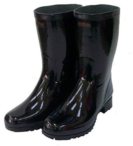 [TOHO] 東邦 1506 国産 紳士 軽半長靴 メリヤス 3E (27.0 3E)