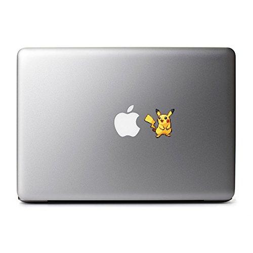 macbook decal pikachu - 2