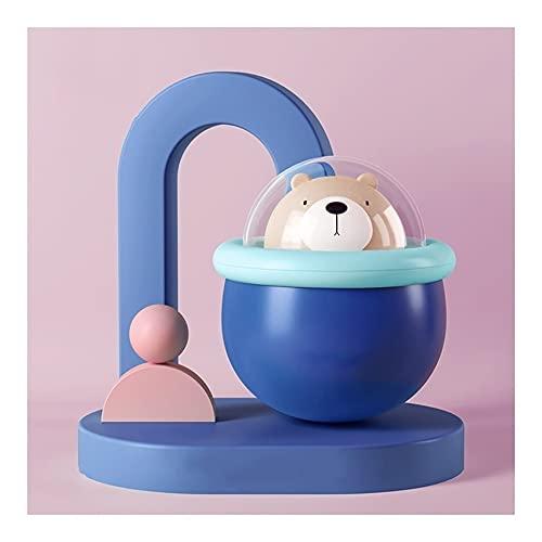 Z-Color Juguete de Swing - Wobbler para bebés - Juguetes Musicales - Batidos, Rollos y jingles - Juguetes de Desarrollo para bebés recién Nacidos 3-6, 7-9, 12-18 Meses Vaso de Juguete (Color : Blue)