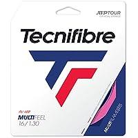 テクニファイバー(Tecnifibre) 硬式テニス ガット マルチフィール 12m ネオンピンク 1.30mm TFG221
