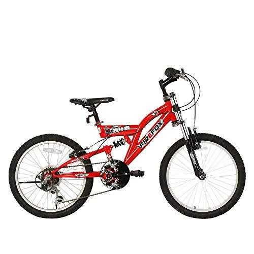Firefox Bikes Unisex-Youth Alfa 20T -6 Speed Kids Bike, Commuting Bike Frame Size: 13 Inch, Rider Height : 4.0 Feet to 4.8 Feet Mountain Cycle (Red, 7-9 Years)