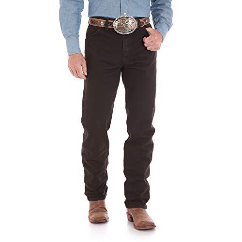 Wrangler Men's 13MWZ Cowboy Cut Original Fit Jean, Black Chocolate, 31W x 32L