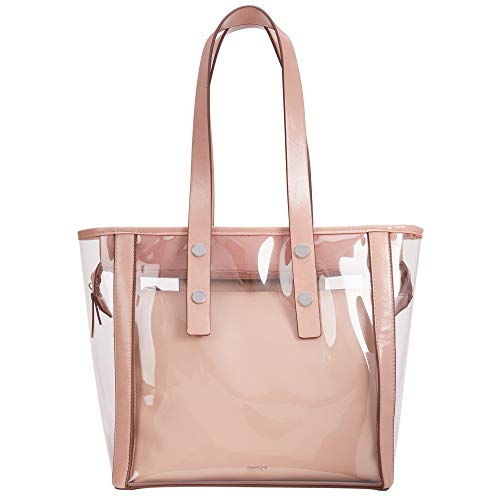 Parfois - Bolso Shopper Vinilo - Mujeres - Tallas M - Beige