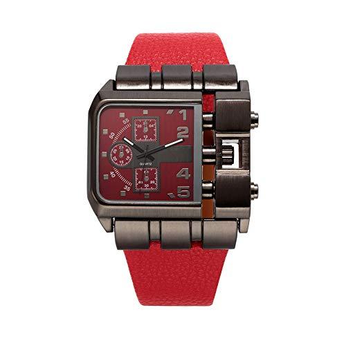 MALY Comerciales Seguir Hombre Hombres Retro, Cadera Reloj Europa el Mercado de América del Salto del Ejército Reloj Creativo Reloj de los Hombres del Concepto,F