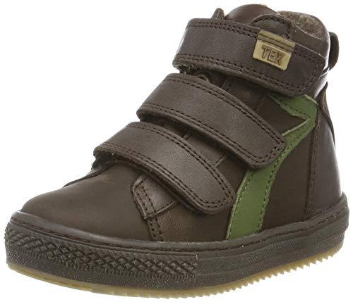 Bisgaard Jungen Eik Hohe Sneaker, Braun (Brown 302), 24 EU