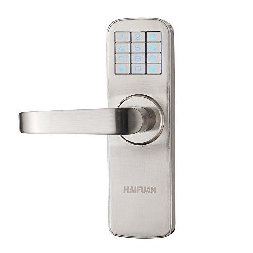HAIFUAN Security Digital Keyless Code Door Lock Unlock with Code and KeyHFAM5L