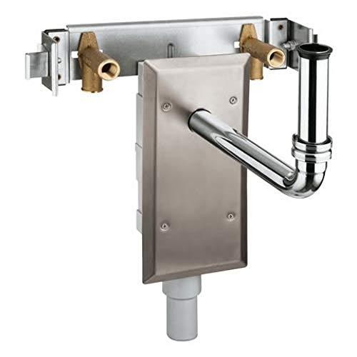Grohe Rapid Pro Halter (für Waschtisch), Standmontage, Unterputz-Siphon, 39034000