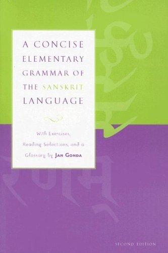 Compare Textbook Prices for A Concise Elementary Grammar of the Sanskrit Language 2nd Edition ISBN 9780817352615 by Gonda, Jan,Ford Jr, Gordon B.