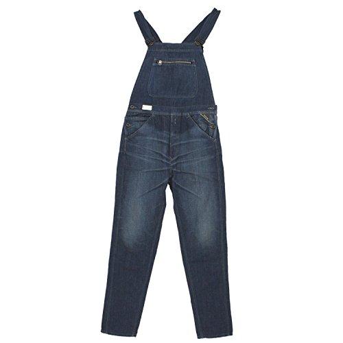 Replay, Latzjeans, Herren Herren Jeans Hose Denim Blue Used S Inch Ca. 30 L 34 [19827]