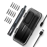 JAKEMY 電動ドライバー USB充電式 トルク調整可能 精密ドライバーセット 小型 ミニドライバー DIY作業工具 スマホ カメラ フィギュア 電子製品 差替式修理キット