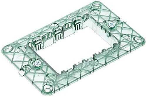 VIMAR 0R14613 Plana Supporto per placche elettriche da Montare su scatole rettangolari 3 Moduli, con Viti, 1 Pezzo