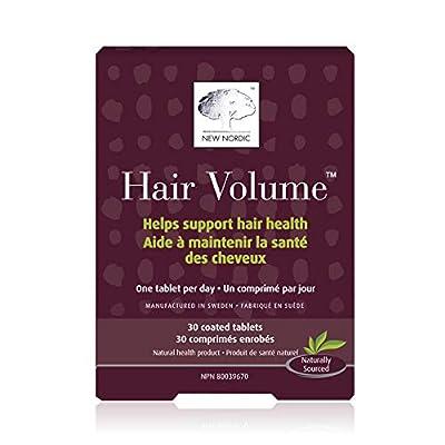 New Nordic Hair Volume Gummies, 60 Count